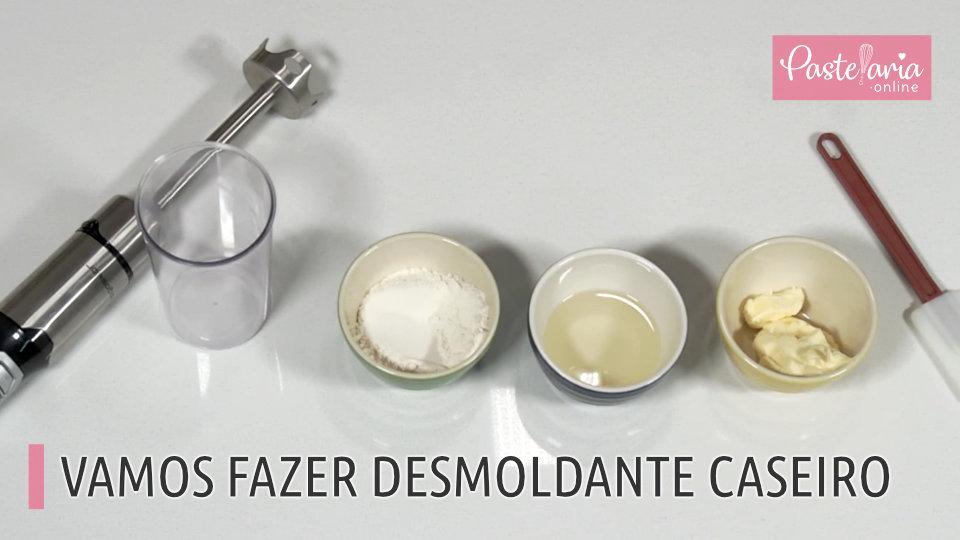 Desmoldante Caseiro