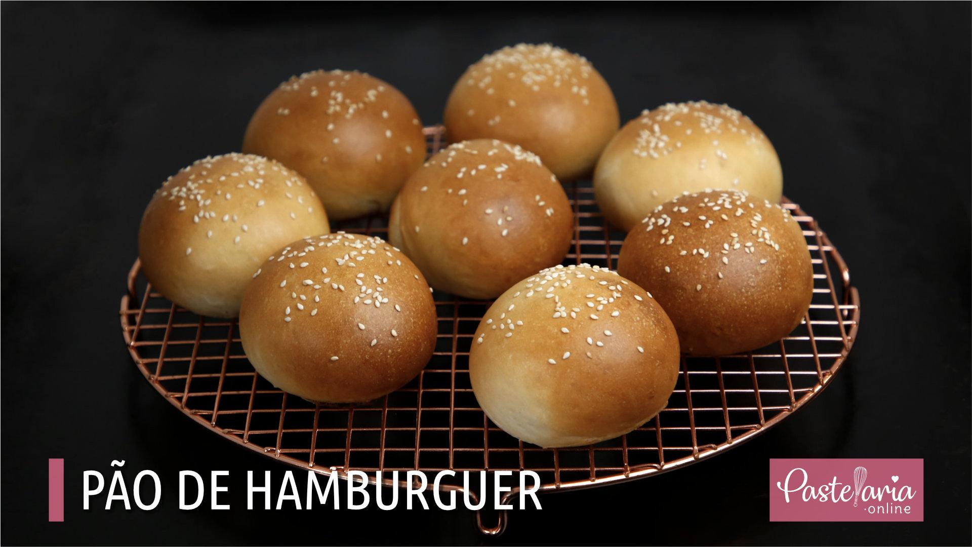Fazer pão de hamburger