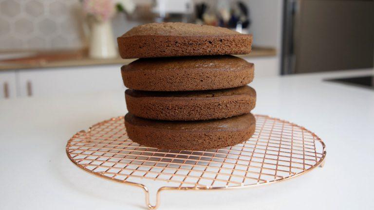 bolo de chocolate varias camadas