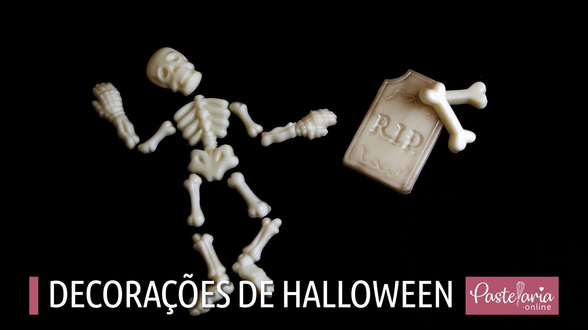 Decorações Chocolate Halloween