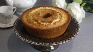 bolo de limão com sementes de papoila