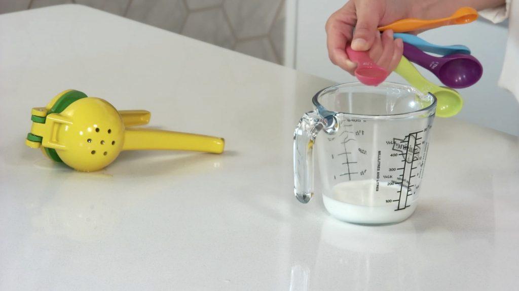 Fazer buttermilk em casa