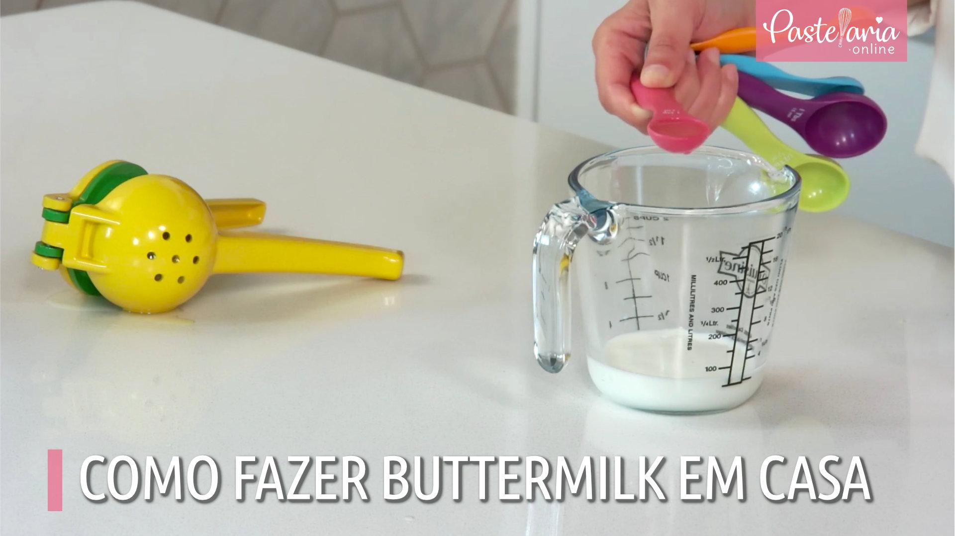 Como Fazer buttermilk