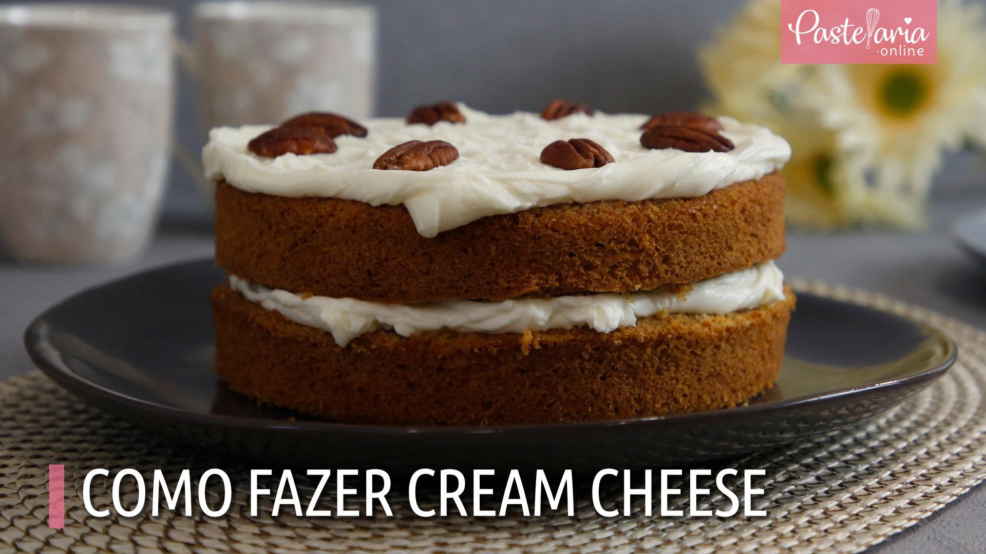 Como fazer cream cheese