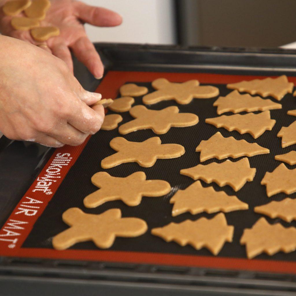 cookies de gengibre