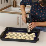 spritz cookies - dispara biscoitos