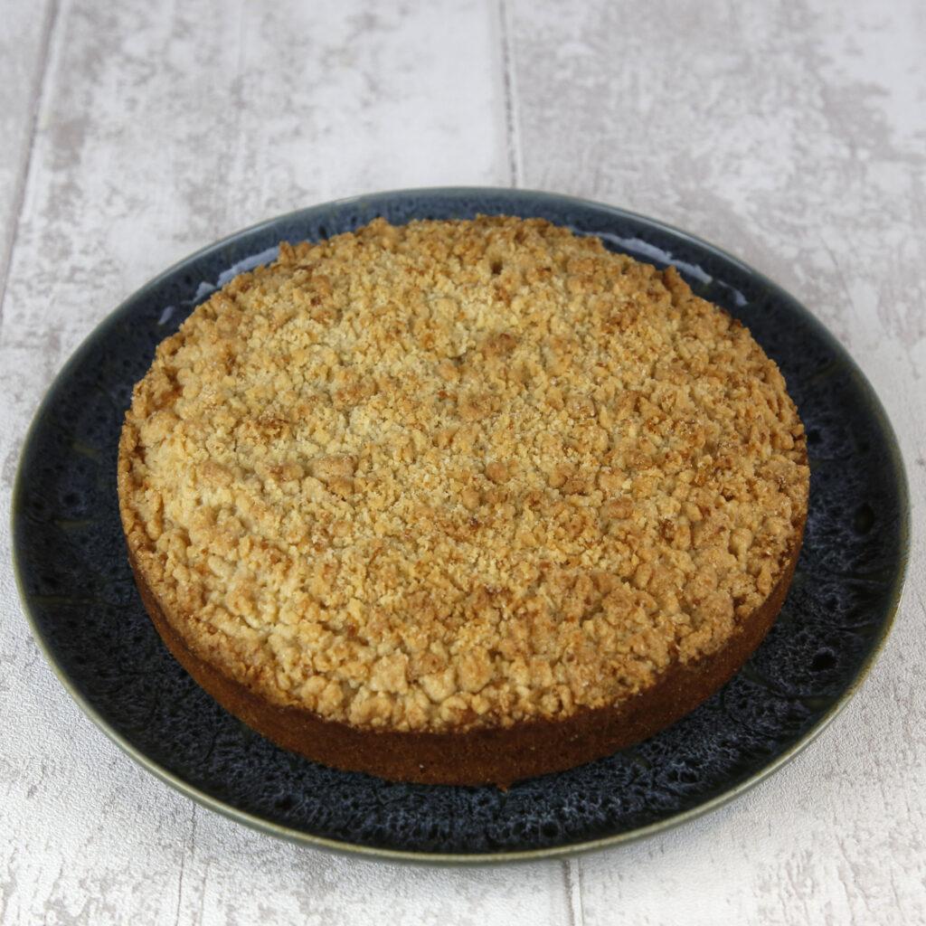 crumble limão bolo